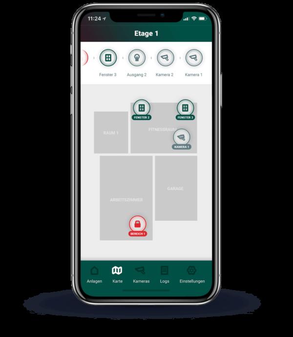 Karten-Funktion der App