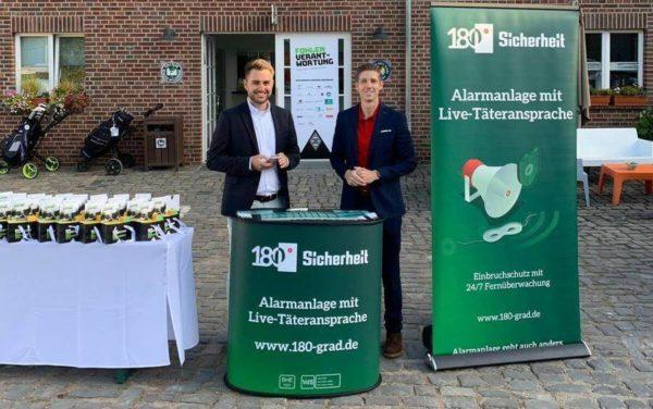 Sponsoring beim Golfturnier von Borussia Mönchengladbach
